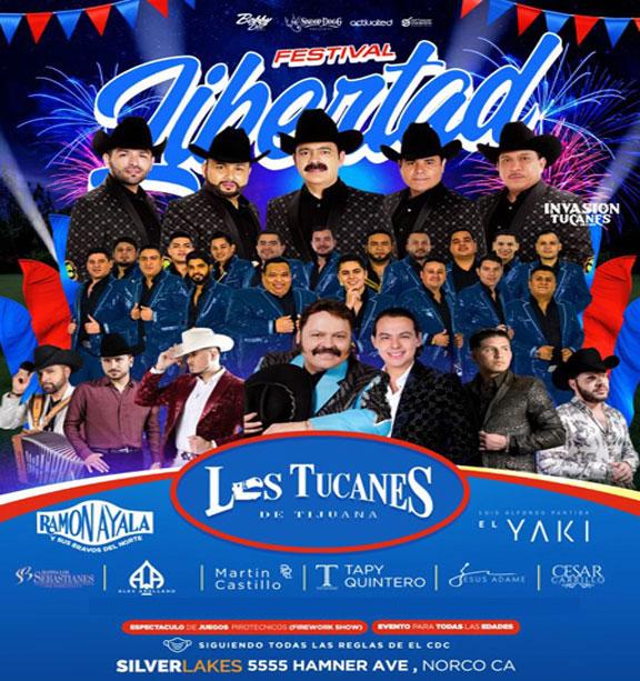 Festival Libertad con Los Tucanes de Tijuana